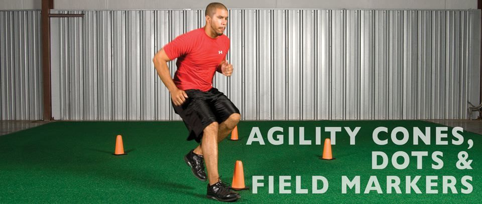 Agility Cones, Dots and Field Markers
