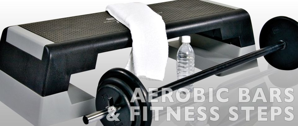 Aerobic Bars and Fitness Steps