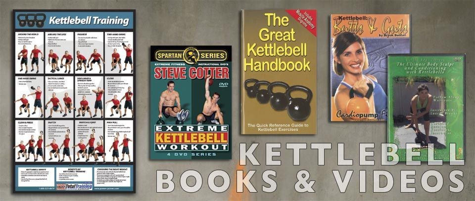 Kettlebell Books and Videos