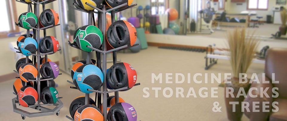 Medicine Ball Storage Racks and Trees