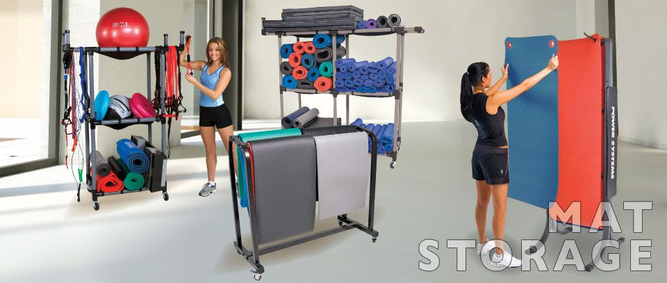 Mat Storage For Workout Mats Maintain Condition And Improve Gym Efficiency Systems