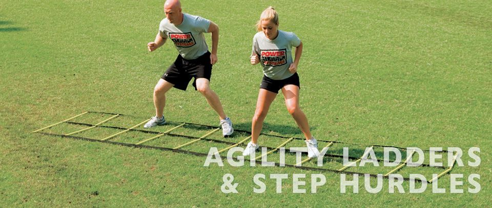 Agility Ladders and Step Hurdles