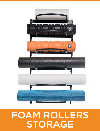 Foam Rollers Storage Equipment