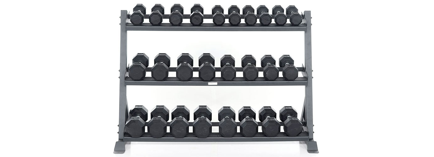 Granite Dumbbell Rack