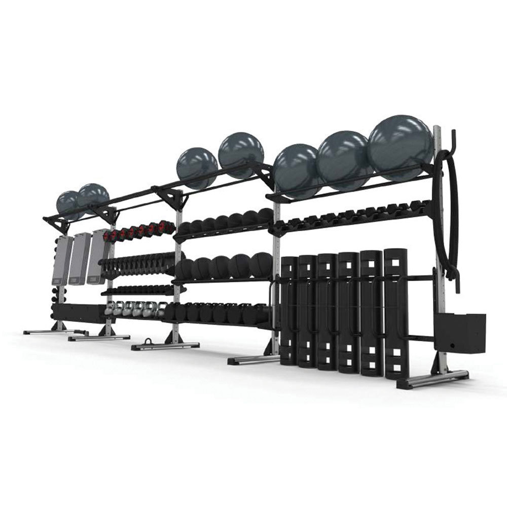 THE FUNCTIONAL, INTEGRATED, AND MODULAR STORAGE SOLUTION