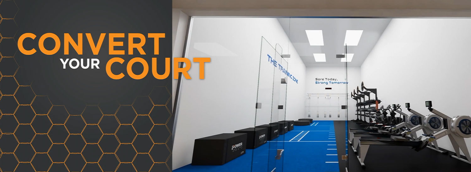 Racquetball Room Conversion