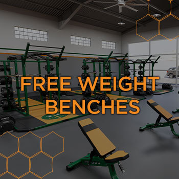 free weight benches