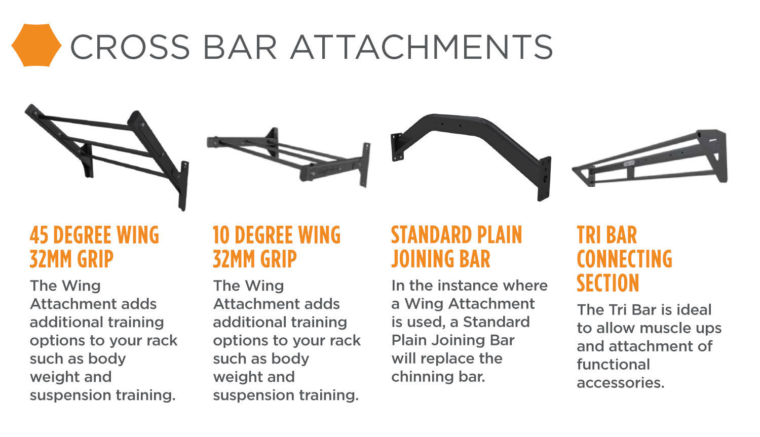 sierra cross bar attachments