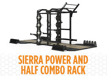 Sierra Power & Half Rack Oak Platform