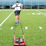 Power Sled w/ Shoulder Harness & Leads