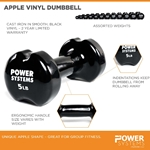 Apple Vinyl Dumbbell