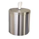 GymWipes Stainless Steel Wall Dispenser