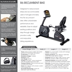 Circle Fitness 6000 – Recumbent Cycle