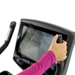 Circle Fitness 7000 – Upright Cycle with Built in Digital TV