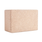 Round Edge Cork Yoga Block