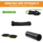 Orange Basic Home Gym Package #3