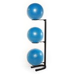 Premium Stability Ball Rack Black