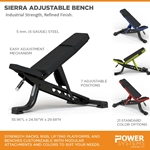 Sierra Adjustable Bench