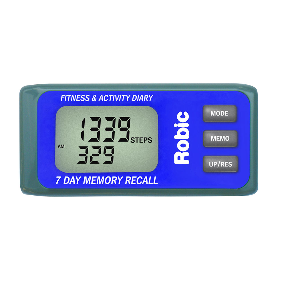Robic M339 3D Motion Sensor 7 Day Memory Pedometer