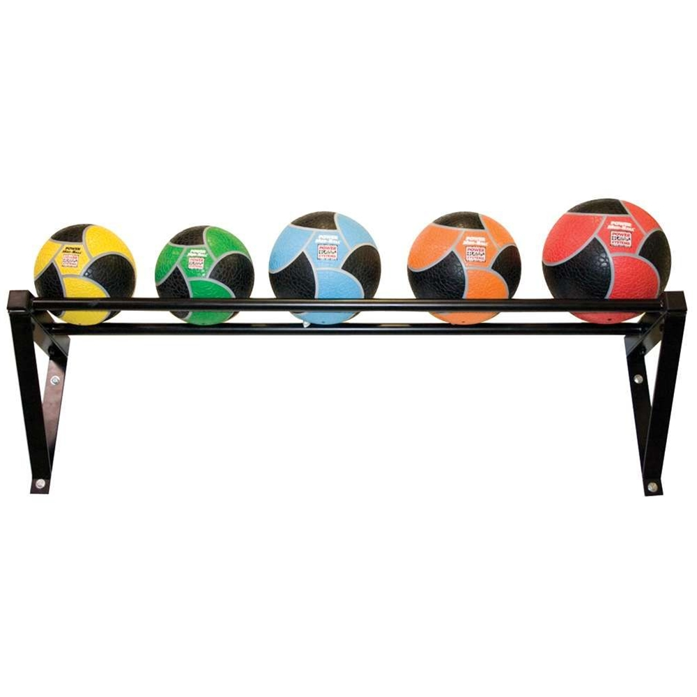 Wall Mounted Med Ball Rack