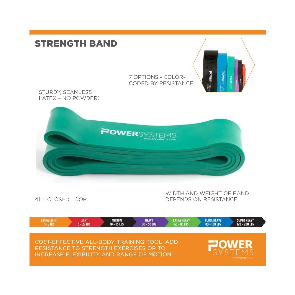 "Power System Strenght Band 2 1//2"" Ultra Heavy"