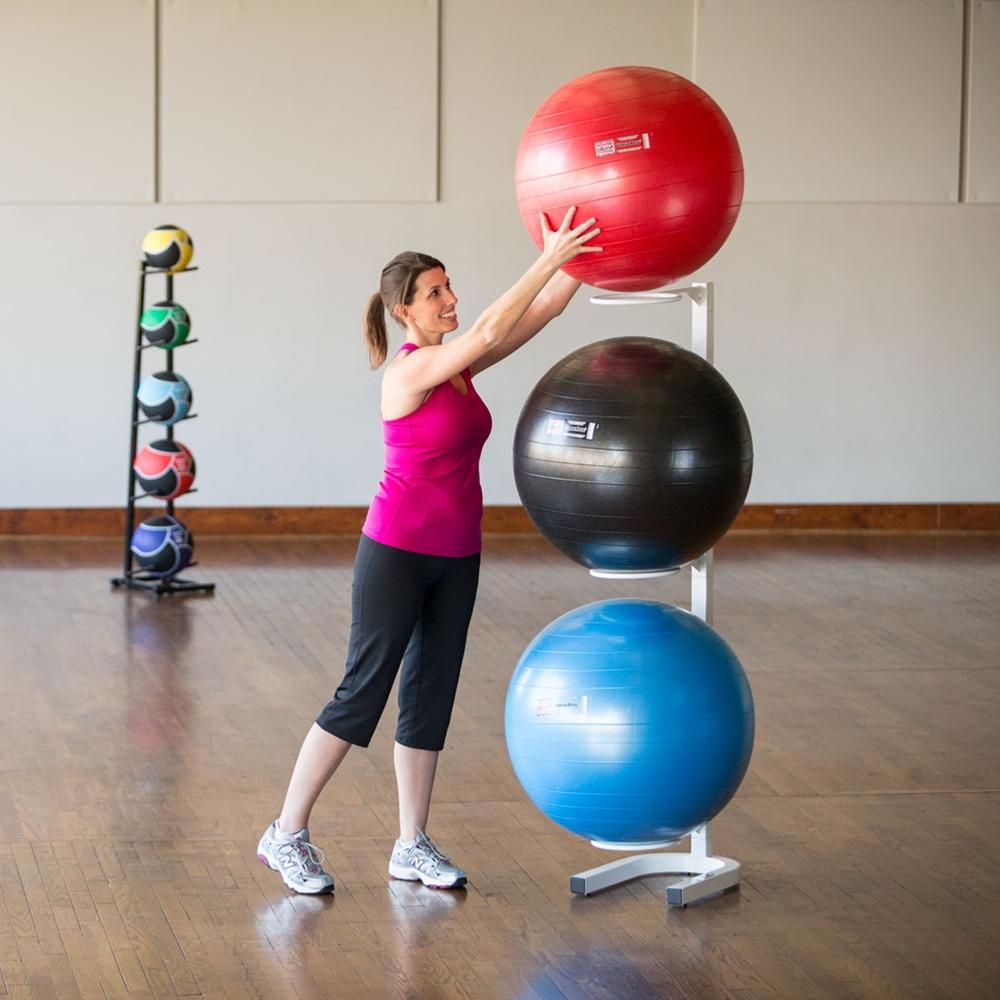 Stability Ball Wall Rack: Fitness Ball Racks