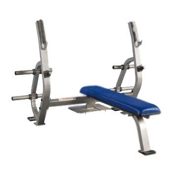 Pro Maxima PLR-150 Olympic Bench Press w/ Spotter Stand and Weight Storage