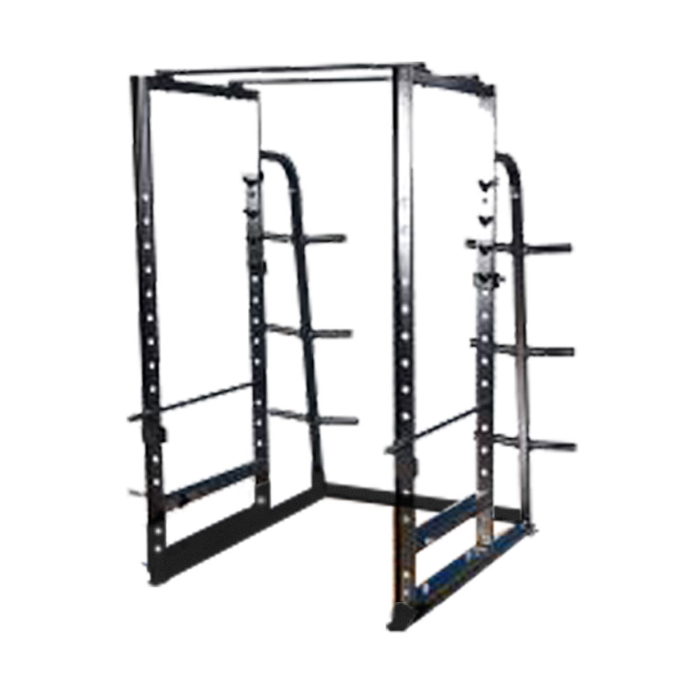 Pro Maxima FW-97 Deluxe Power Rack w/Weight Storage & Band Attachment