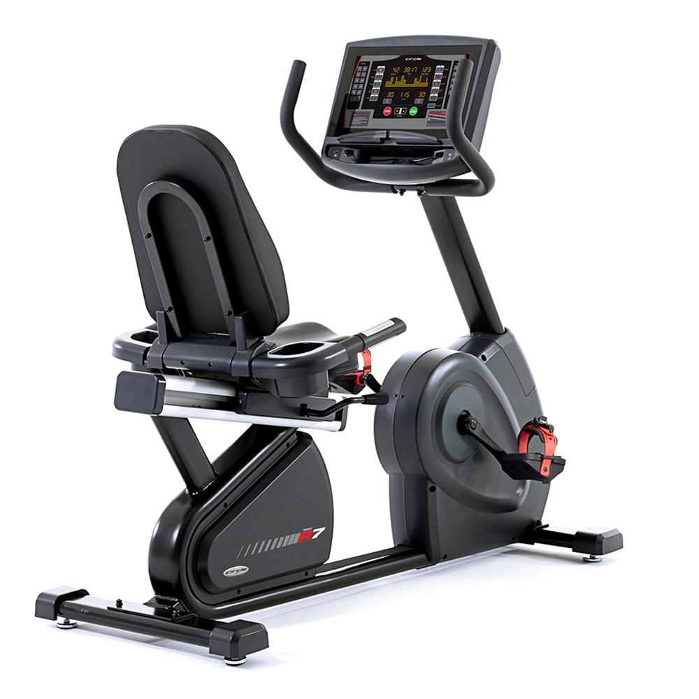 Circle Fitness 7000 – Recumbent Cycle with LED Console