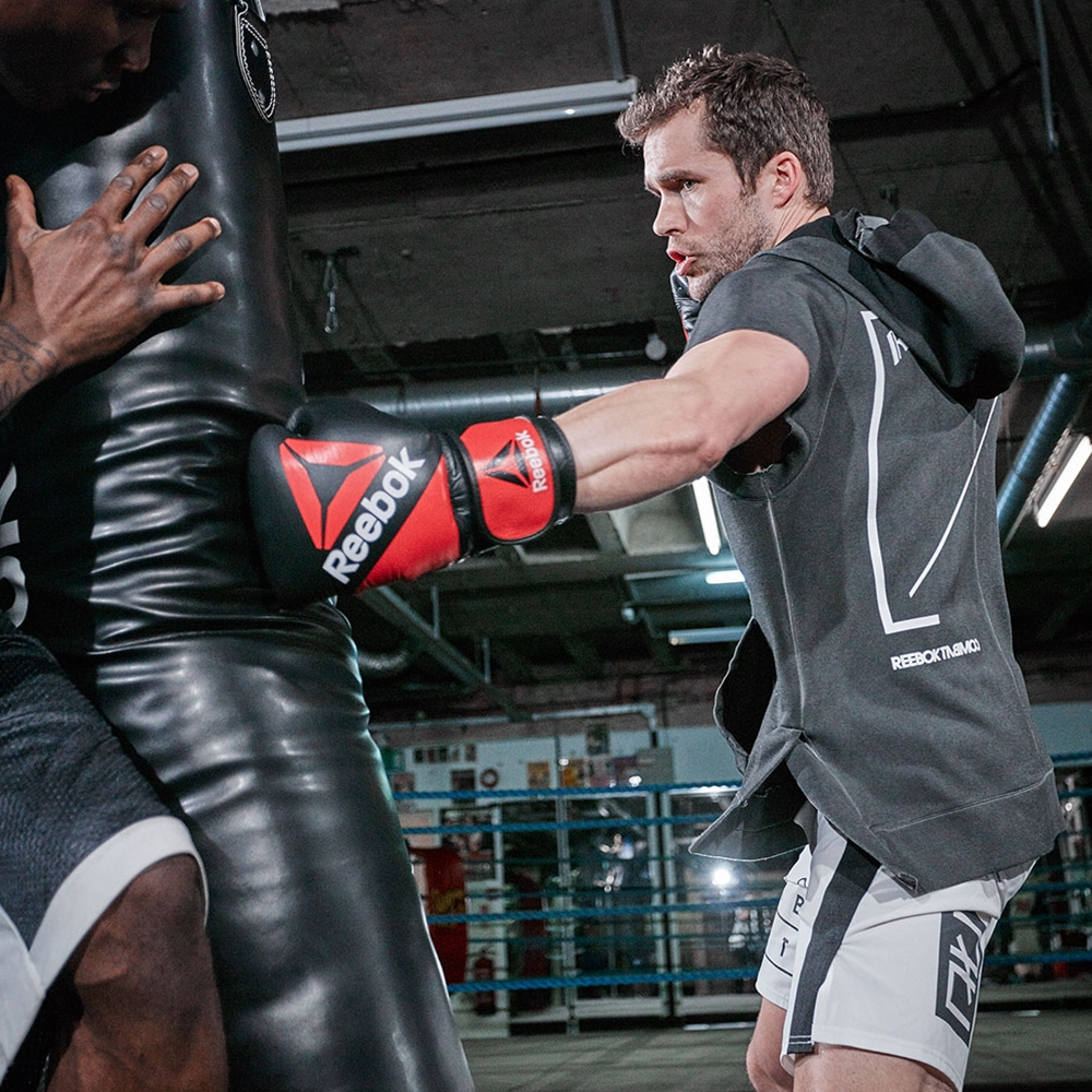 Reebok Combat Leather Training Glove Power Systems