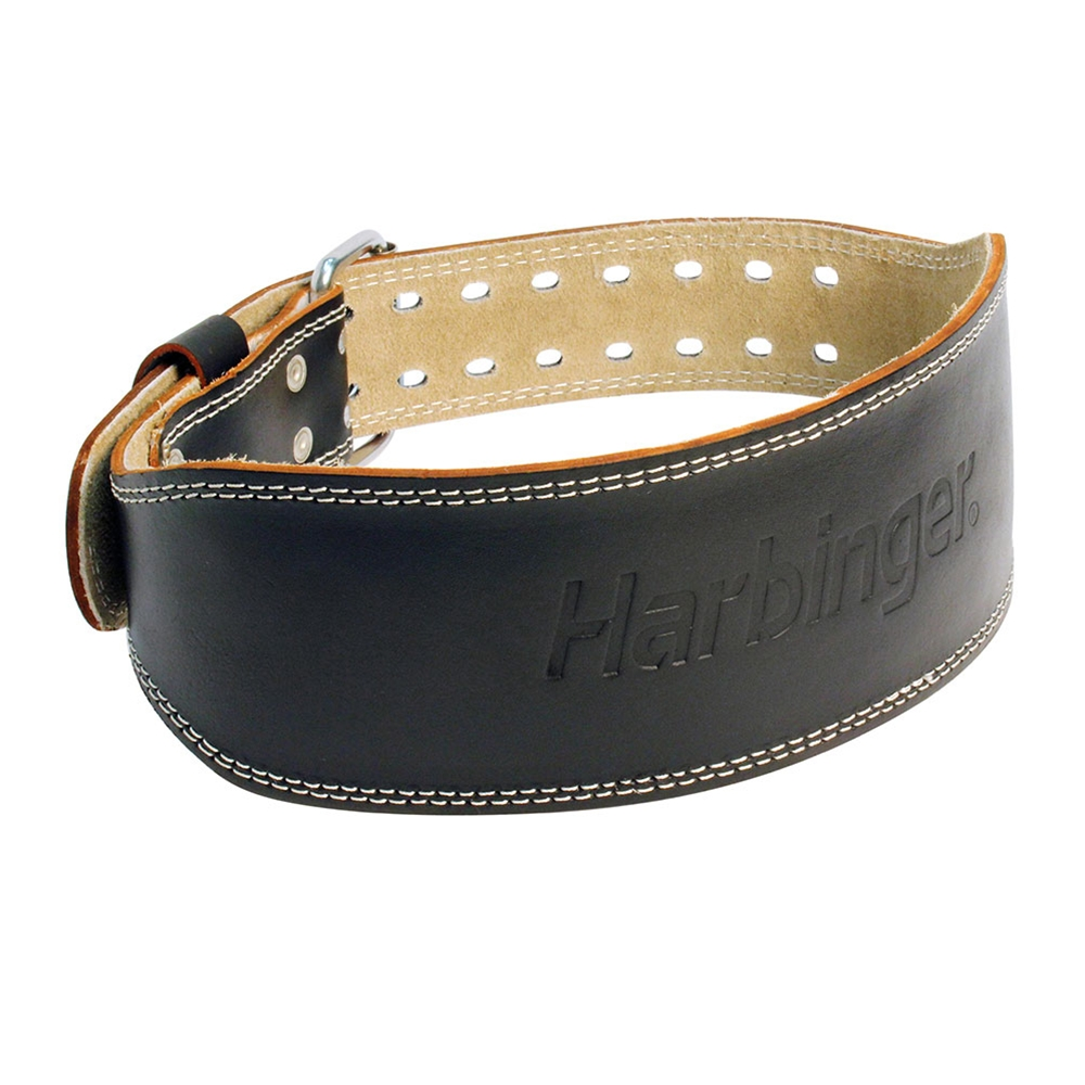 harbinger padded leather belt power systems