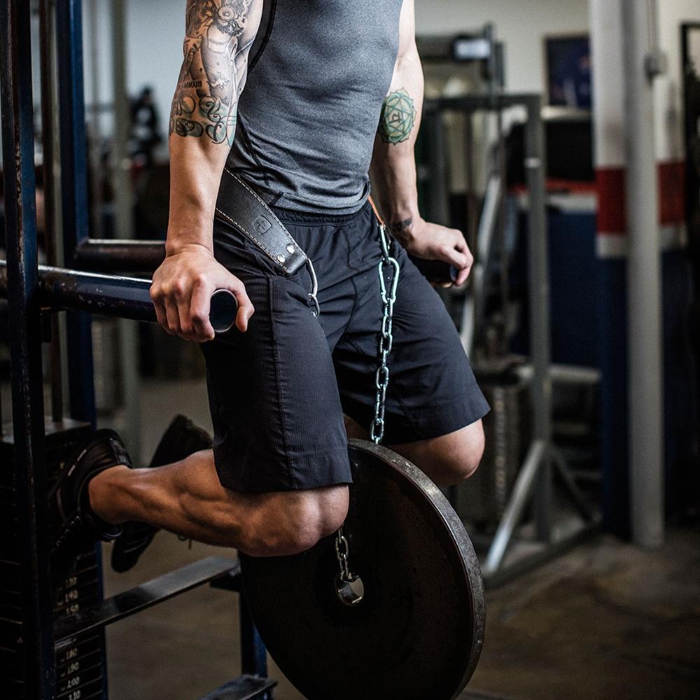 Weightlifting Accessories Program - using dip belt
