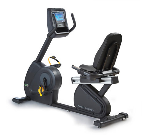 Green Series 7000 – Recumbent Cycle with Built in Digital TV