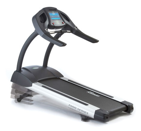 Green Series 7000 – Treadmill with Built in Digital TV