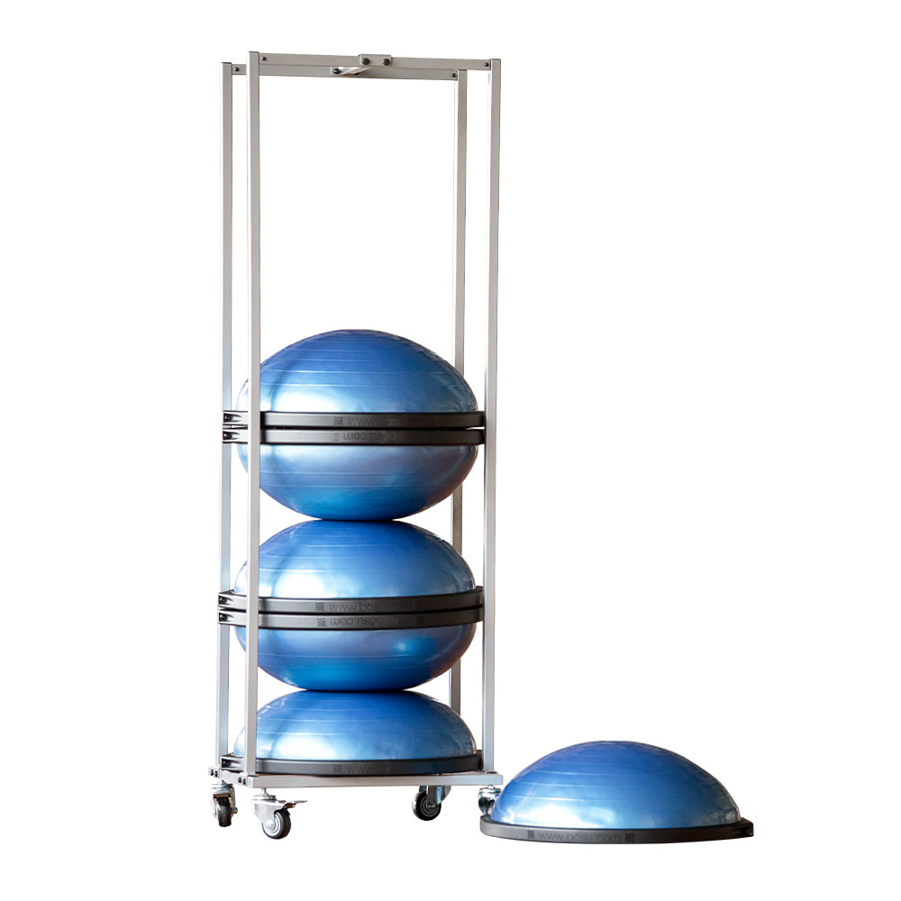 Bosu Balance Trainer Keep Your Facility Neat And Clean With Storage
