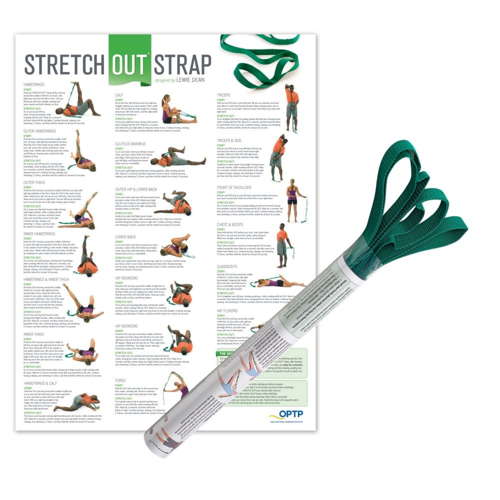 Stretch Out Strap with Chart
