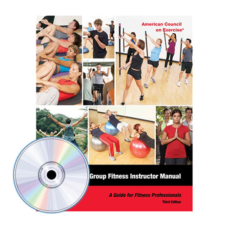 ACE Group Fitness Instructor Manual: A Guide for Fitness Professional - 3rd Edition
