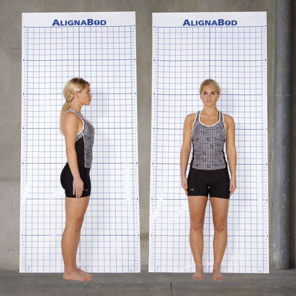 Alignabod (tm) Posture Assessment Grid Improve Deviati