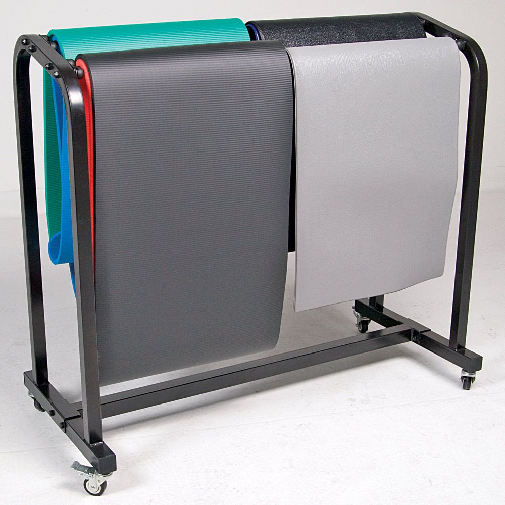 Exercise Mat Storage Cart Organize Fitness Mats | Power Systems