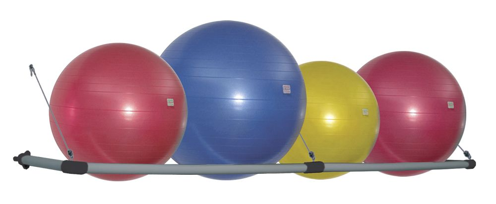 Stability Ball Wall Storage Rack