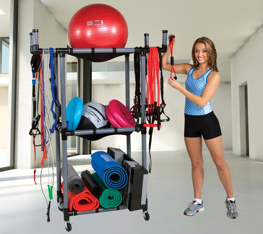 Gym Equipment U2013 The Multi Purpose Storage Rack Keeps Gym Equipment  Organized And Out Of The Way | Power Systems