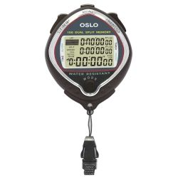 Robic Silver 100 OSLO 100 Dual Memory Stopwatch Countdown and Stroke Rate