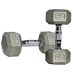 Super-Hex Dumbbell - Single - 3 lbs.