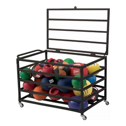 Secure Med Ball Cart