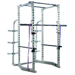Pro Maxima FW-163 Competition Power Rack w/ Wide Angle Base and Weight Storage Rack