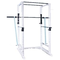Pro Maxima FW-74 Wide Power Rack w/Band Attachment