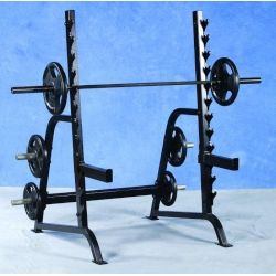 Pro Maxima PL-127 Squat Rack w/ Weight Storage