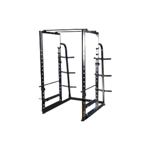 Pro Maxima FW-97 Deluxe Power Rack w/ Weight Storage and Band Attachment