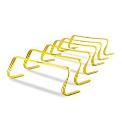 Perform plyometric, speed and agility hurdle drills with 6X hurdles from Power Systems.