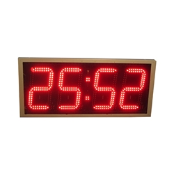 Slim Pace Clock 4-digit clock